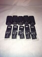 Lot of 5 Lg Neon Gt365 - Black Gray (At&T) Cellular Phone please read