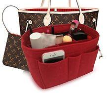 cc782188c163 Felt Purse Handbag Insert Bag Organizer Fits Speedy 30 Neverfull Mm Red  Medium