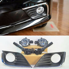 Fog Light Lamp Kit without AUTO HeadLamp switch for Nissan Altima Sedan 2016 Y