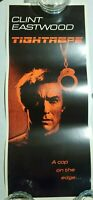 1984 TIGHTROPE CLINT EASTWOOD  RARE INSERT MOVIE POSTER ORIGINAL 36 X14