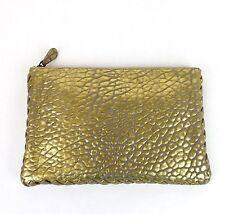 Neu Authentisch Bottega Veneta Leder Clutch Tasche W / Gewebt Rand, 256400 1516