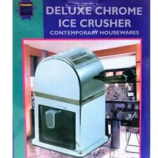 More details for deluxe chrome ice crusher container & scoop