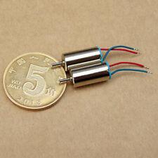 10x NdFeB magnetic motor 0408 Coreless motor Subminiature 3-4.2V 60000-75000 RPM