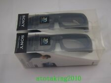 2 x Sony TDG-BR250/B Rechargeable Active 3D Adult Glasses
