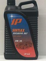 4 LITRI OLIO MOTORE IP SINTIAX EXCLUSIVE 507 5W/30  ACEA C3 API SN/CF BMW LL04