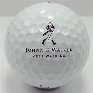 3 Dozen (Johnnie Walker LOGO) Titleist Velocity Mint Golf Balls +Free Poker Chip