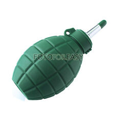 Rubber Air Blower Dust Cleaner for DSLR SLR Camera CCD Lens Cleaning Green Large