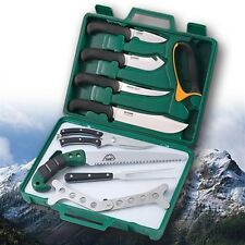 Outdoor Edge Game Processor PR-1 12-Piece Portable Butcher Kit with Case