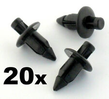 20x 6mm Plastic Rivet Bike Fairing Trim Clips- Honda, Yamaha, Suzuki, Kawasaki