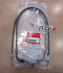 2007 - 2012 Honda HRC CBR600 RR Race Quick Shift Action Throttle Cables x 2 Pair