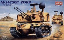 ACADEMY 1:35 KIT DA MONTARE CARRO ARMATO M-247 SGT YORK AIR DEFENSE GUN 1346