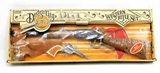 NEW Vintage Gabriel Dodge City Western Rifle Repeating Revolver Holster Toy Set