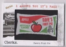 2017 Clerks trading cards patch FAKE-12 Dave's Fruit Pie