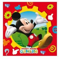 Disney Pixar Mickey Mouse clubhouse Luncheon Napkins pack of 20  Party Tableware