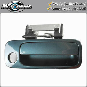 Exterior Door Handle Front Right Side for 2000-2004 Toyota Avalon 6S7 Dark Green