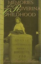 Memories of a Riverina Childhood by Joan A. Palmer (Paperback, 1993)
