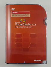 MS Visual Studio 2008 Professional Pro Upgrade Update DVD Box Deutsch C5E-00259