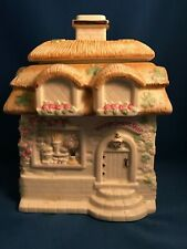 "Lenox Irish Blessings ""Village Sweet Shop"" Sugar Canister 2005 *Final Issue*"