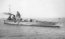 ROYAL NAVY NELSON CLASS BATTLESHIP HMS RODNEY