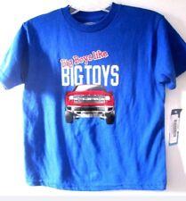 Ford Car Big Boys Like Big Toys Blue T-Shirt size 3T