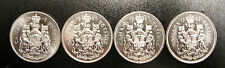 1979, 80, 81, 82 COAT OF ARMS JUBILEE   4 COINS 1/2 DOLAR 50 CENTS NICKEL