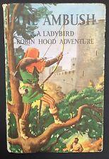 THE AMBUSH: A LADYBIRD ROBIN HOOD ADVENTURE  - Buff Cover - Vintage