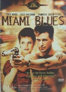 Miami Blues DVD Region 4 - Jennifer Jason Leigh, Alec Baldwin