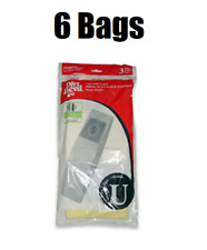 (6) Dirt Devil Type U Upright Vacuum Bags 3-920750-001 GENUINE