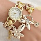 Fashion Luxury Pearl Bracelet Quartz Watches Women Casual Wristwatches