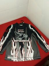 Motocross Team Racing Shirt - Youth Large 14/16 by Zero Xposur ZX Pro Rider