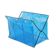 Stand Desktop Storage Container Box Clear Home Foldable Waterproof Basket Bag