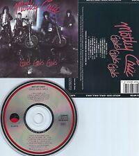 MOTLEY CRUE-GIRLS,GIRLS,GIRLS-1987-USA-ELEKTRA/ASYLUM REC. E2 60725 SRC-10-CD-M-