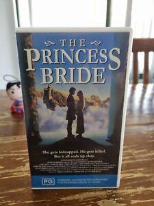 The Princess Bride vhs video tape