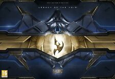 StarCraft II: legacy of the void collectors edition.