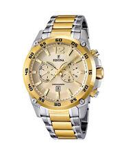 Sportliche Armbanduhren aus Edelstahl mit Chronograph für Erwachsene