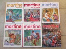 Lot de 6 livres MARTINE (lot 5)