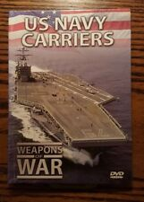 US Navy Carriers Weapons of War Documentary DVD and Booklet