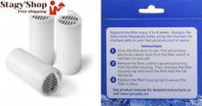 Gamelles et distributeurs filtres fontaines à eau blancs pour chien