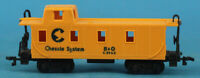 Bachmann HO Gauge System Baltimore & Ohio B & O #C3963 Train Caboose Car #C3963U