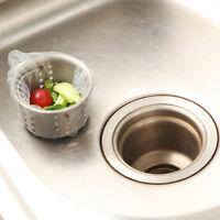 10 pcs/set  Kitchen Tools Kitchen Bath Sink Strainer Waste Plug Drain Filter Net