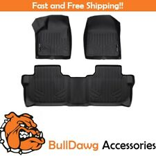SMARTLINER Custom Fit Floor Mats Liner Set Black for 2019 Chevrolet Blazer