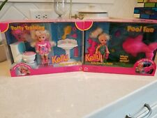NRFB 1996 potty training kelly & pool fun kelly baby sister of barbie