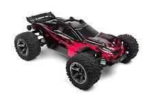 Custom Body Hot Pink for Traxxas 1/10 Rustler 4x4 Truck Shell Cover