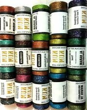 15 X Metallic Multi Embroidery Spools 15 Assorted Colours 400 Yards Threads