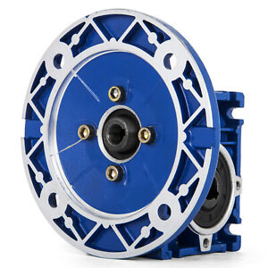 NMRV030 Series Worm Gear 15:1 63c Speed Reducer 20Cr Non-rusting 56-62HRC HOT