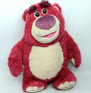 Toy Story Lotso Bear soft plush Talking talks Thinkway
