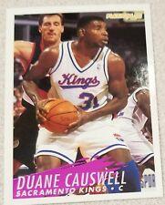 1994-95 Fleer #192 Duane Causwell Sacramento Kings Basketball Card