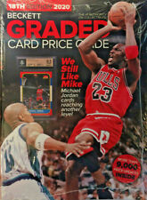 New 2020 Beckett Graded Card Price Guide 18th Edition With Michael Jordan