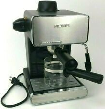 Mr. Coffee BVMC-ECM260 4 Cups Espresso & Cappuccino Machine - Black/Stainless