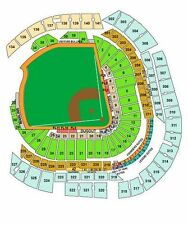 2 Tix Chicago Cubs VS Miami Marlins Tickets 06/23/17 Sec 38 row 1